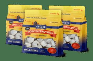 Chateau mini potato dumplings
