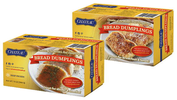 Chateau Bread Dumplings New Box